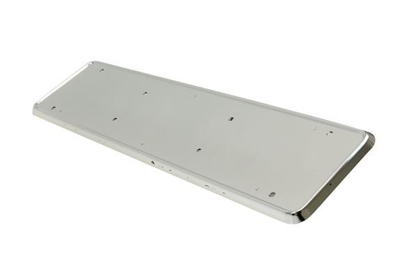 Chrome Urban X ABS Number Plate Holder (Plastic) (Box Qty: 50)