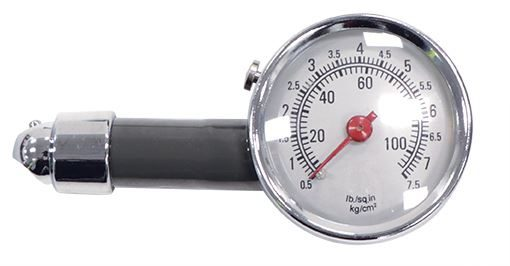 Deluxe Metal Body Analogue Tyre Gauge (Box Qty: 144)