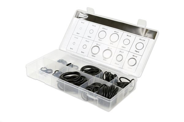 125-piece O-Ring Rubber Seal Assortment Kit (Box Qty: 24)