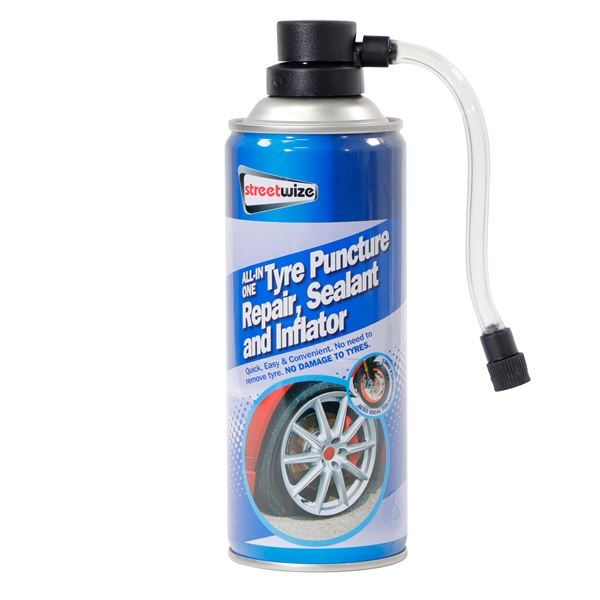 PDQ of 12 Tyre Sealer/Inflator 450ML (Outer Ctn Qty: 1 PDQ of 12)