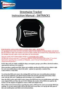 SWTRACK1 Manual AW