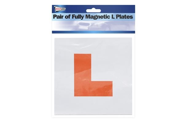 Fully Magnetic L Plates (Outer Ctn Qty: 10)