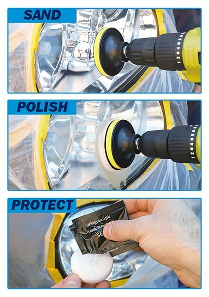 A hero image of SWHL of using the kit for polishing
