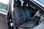 Maryland Padded Front Seat Cushion - Black and Blue