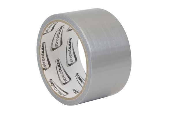 Silver Duct Tape 50mm x 10m (Carton Qty: 12)