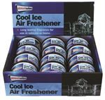 PDQ OF 12 Cool Ice Can Air Freshener (Outer Ctn Qty: 48 (4 x PDQ of 12))