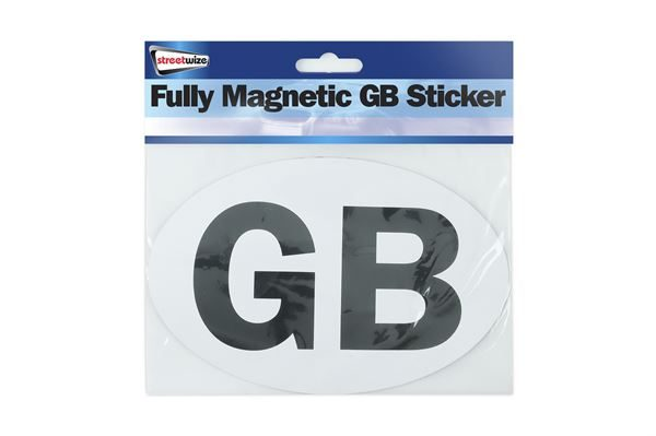 Fully Magnetic GB Sticker (Outer Ctn Qty: 144)