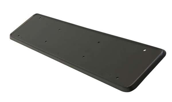 Black ABS Number Plate Holder (Plastic) (Outer Ctn Qty: 50 (Inner Ctns of 5))