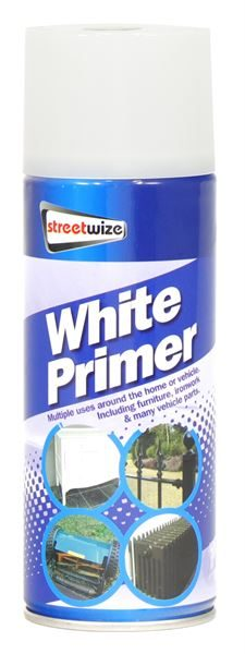 PDQ of 6 White Primer 400ML (Outer Ctn Qty: 1 PDQ of 6)