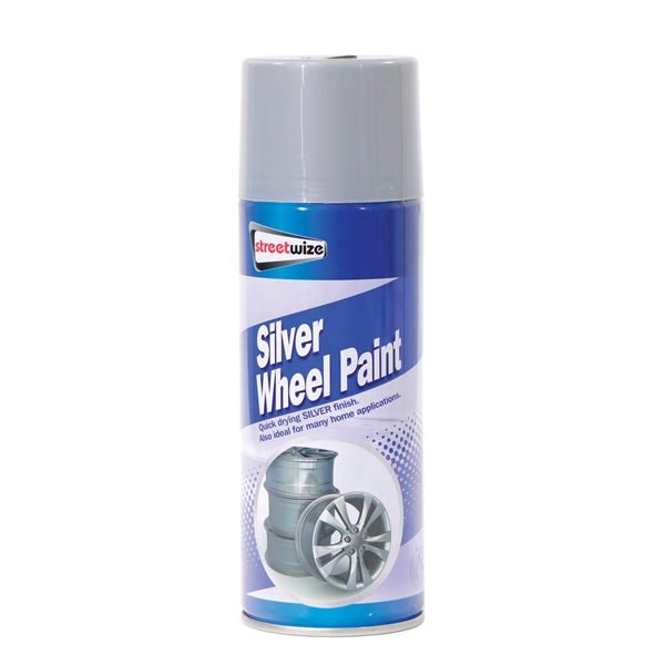 PDQ of 6 Silver Paint 400ML (Outer Ctn Qty: 1 PDQ of 6)