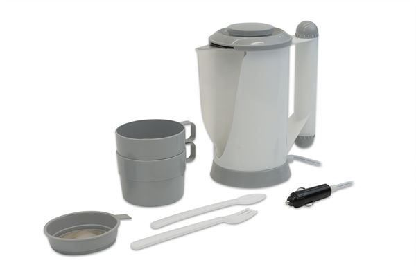 12V Car Kettle with Accessories (Box Qty: 16)